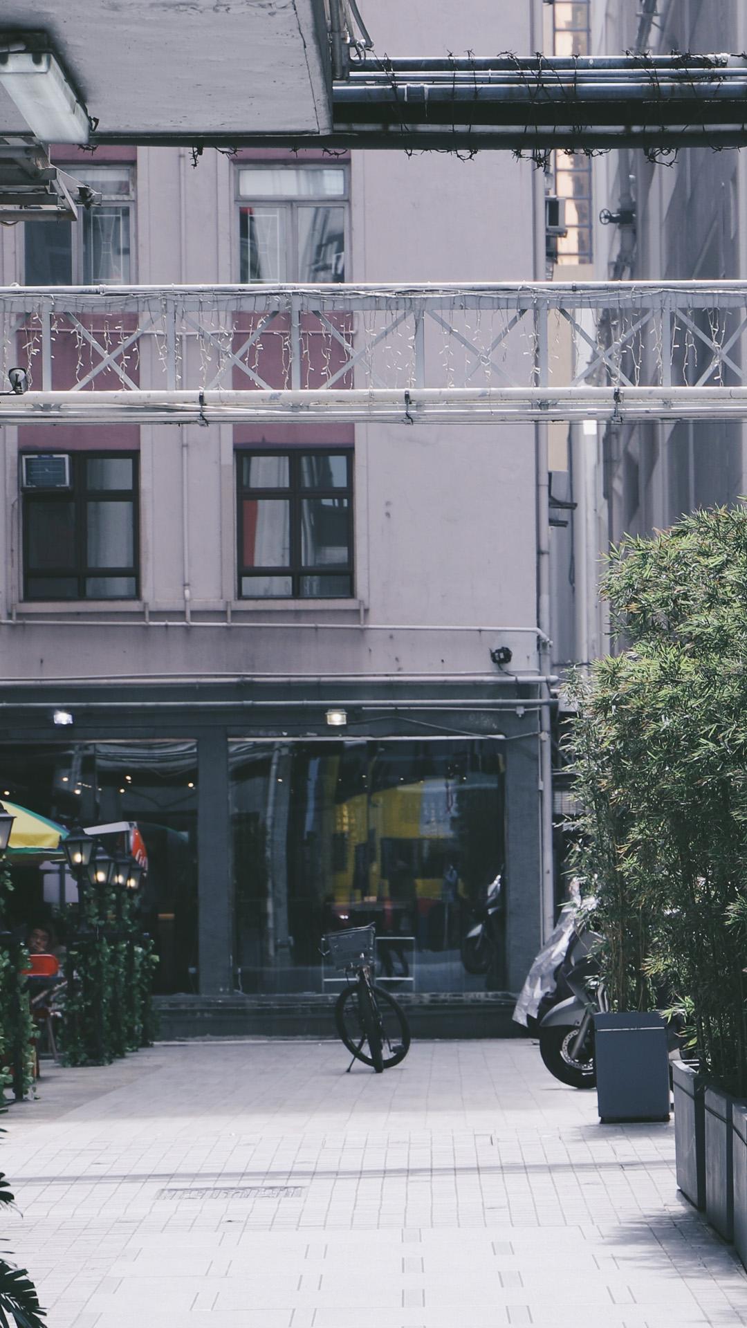 城区街道风景高清手机壁纸8